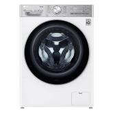 LG F4V1112WTSA 12Kg Washing Machine, Turbowash 360,