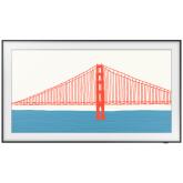 Samsung QE55LS03AAUXXU 55` The Frame, Qled, Dual Led, Art Mode, Ai Sound, Slim Fit Wall Mount