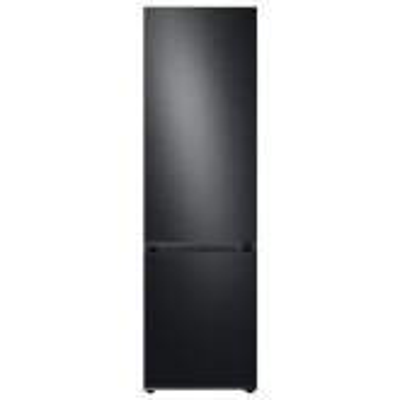 SAMSUNG Bespoke RB38A7B53B1/EU 70/30 Fridge Freezer - Black Stainless