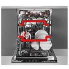 Hoover HRIN4D620PB80 Fully Integrated Dishwasher (16 Place / 43Db)
