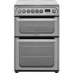 Hotpoint HUE61X S/Steel Electric Double Oven