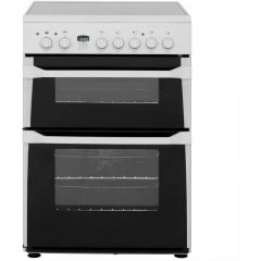 Indesit ID60C2W Innovative 60cm Ceramic Fan Double Oven with timer