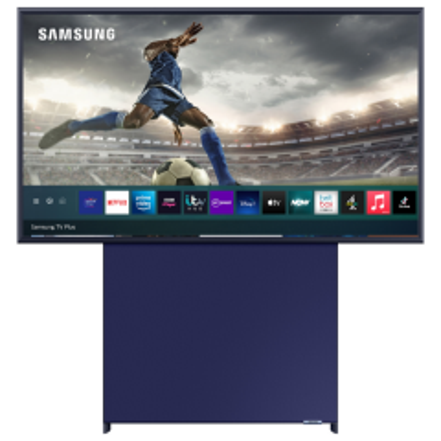 "Samsung `The Sero` QE43LS05TCUXXU 43"" QLED 4K Lifestyle TV (2021 Model)"