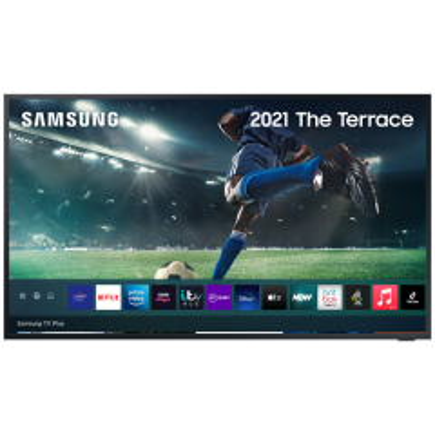 "Samsung `The Terrace` QE75LST7TCUXXU 75"" QLED Outdoor Smart TV"
