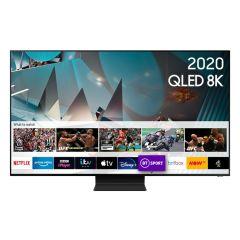 """Samsung QE75Q800TATXXU 75"""" QLED 8K HDR 2000 Smart TV"""