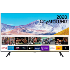 "Samsung UE75TU8000 75"" Smart 4K Ultra HD TV With Crystal Processor"