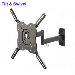 Vivanco BFMO6040 37980 Tilt + Swing Walmount Up To 55 Inch