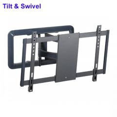 """Vivanco BFMO8060 Full Motion Wall Mount - Up To 85"""" TVs - Max Weight 45kg"""