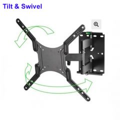 """Tilt and Swivel Wallmount For 23"""" - 55"""" Televisions - WAP410"""