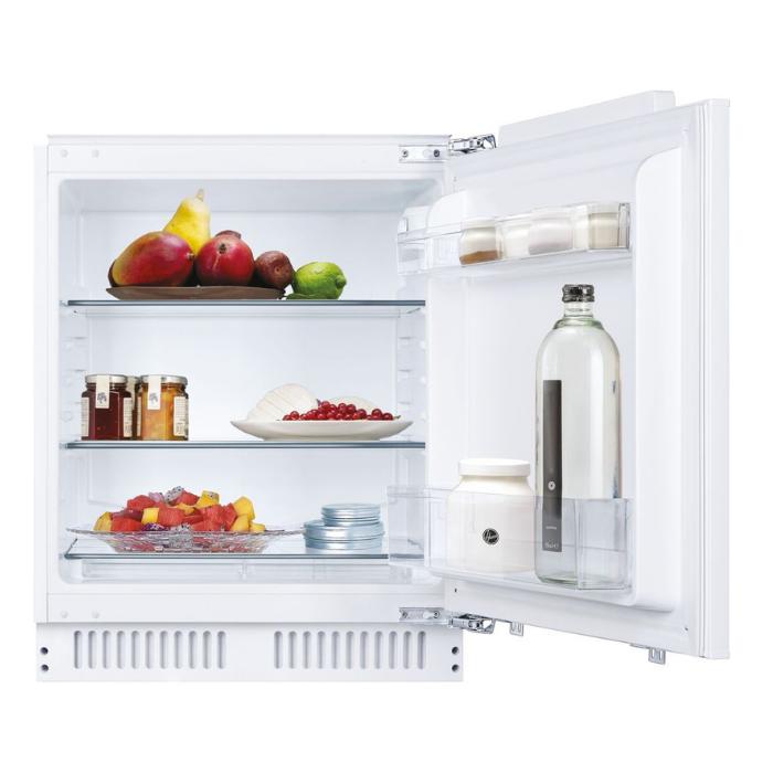 Hoover HBRUP160NKN 135 Litre Integrated Under Counter Fridge Automatic fridge defrost, noise level: