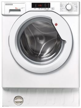 Image of Hoover HBWM814S 8Kg 1400Rpm Washing Machine