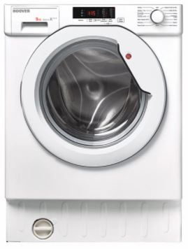 Image of Hoover HBWM915D 9 kg, 1500 rpm fully integrated washing machine 17 Wash programmes, wash capacity 9k