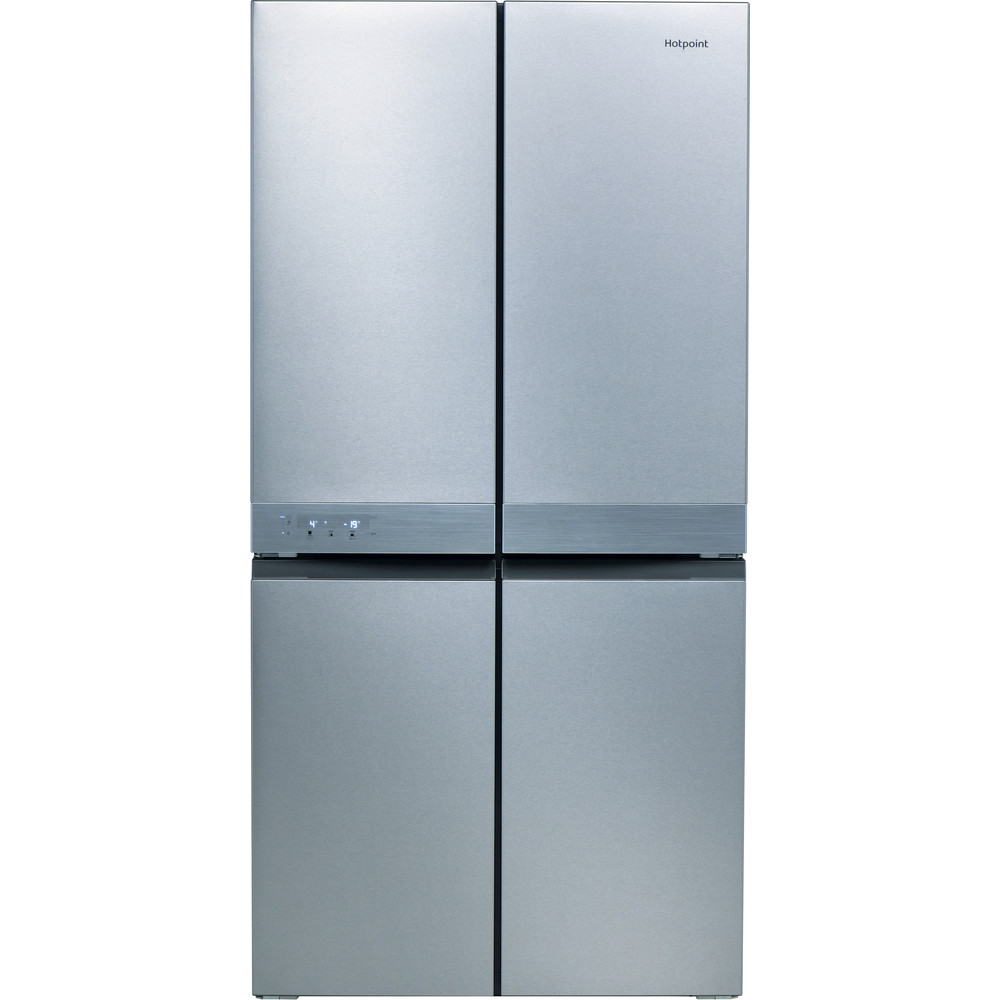 Image of HOTPOINT HQ9 B1L 1 Fridge Freezer - Stainless Steel, Stainless Steel