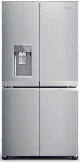 Image of Hotpoint HQ9IMO1LUK American Fridge Freezer - Silver
