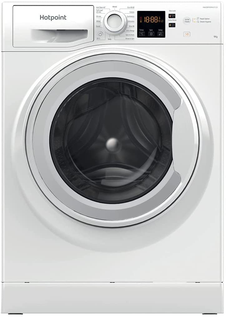Image of Hotpoint NSWF943CWUKN 1400Rpm Spin, 9Kg Capacity Washer