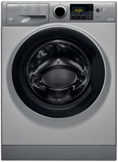 Image of Hotpoint RDG8643GKUKN Washer Dryer