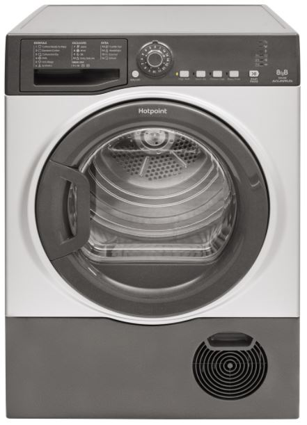 Image of Hotpoint TCFS83BGG9 8Kg Condenser Tumble Dryer