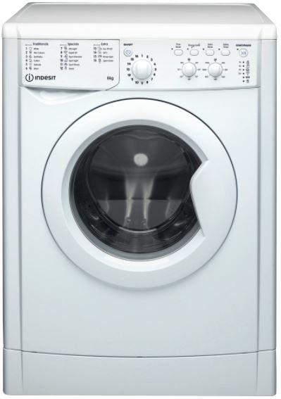 Image of Indesit IWC81251WUKN Indesit Washer 8Kg 1200 Spin