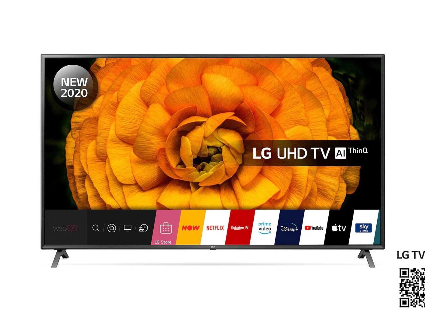 Image of LG 86UN85006LA 86 inch 4K Smart UHD TV 2020 Model