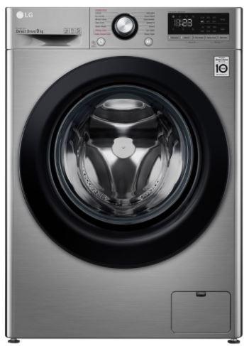 Image of LG AI DD V3 F4V309SSE 9 kg 1400 Spin Washing Machine - Graphite, Graphite