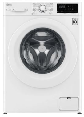 Image of F4V309WNW 9Kg 1400 Spin Direct Drive Washing Machine | White