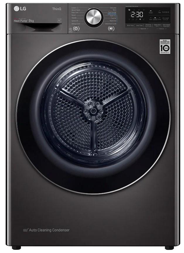 LG FDV909B Freestanding Tumble Dryer