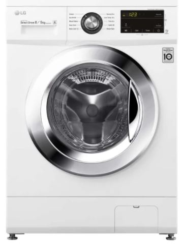 Image of LG Direct Drive FWMT85WE 8 kg Washer Dryer - White, White