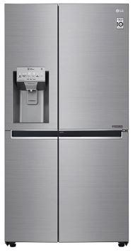Image of LG Door-in-Door™ GSJ961PZVV Wifi Connected American Fridge Freezer - Steel