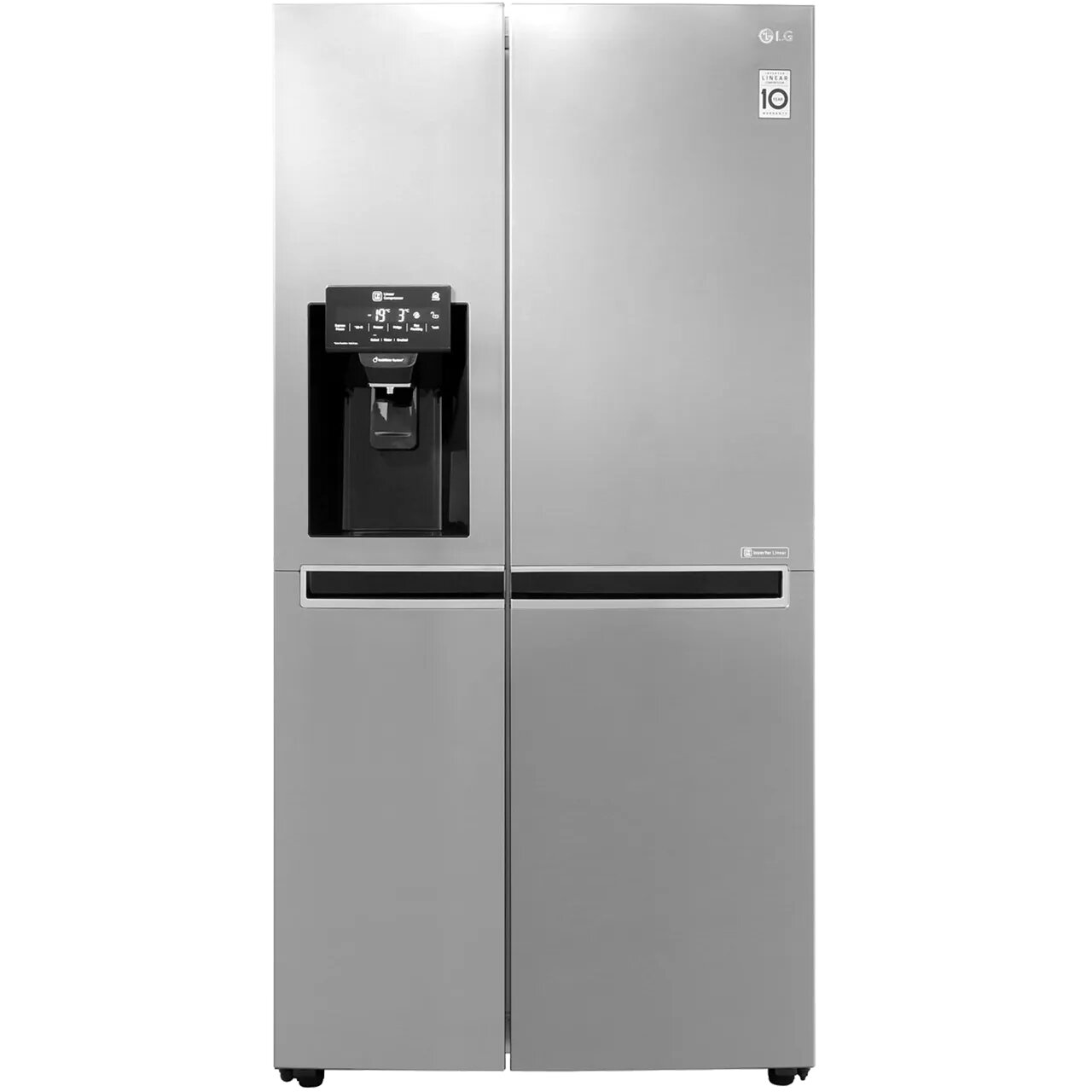 LG GSL761PZXV Wifi Connected American Fridge Freezer - Stainless Steel