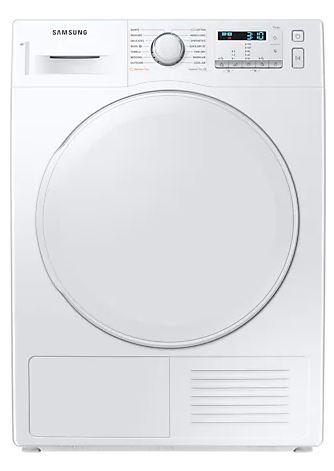 Tumble Dryers Samsung DV80TA020DW/EU Optimaldry™, Heat Pump Tumble Dryer, 8Kg