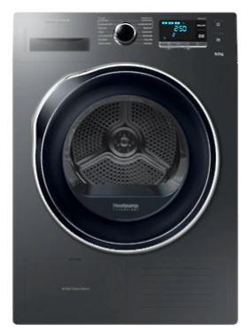 Samsung DV90K6000CX Samsung DV90K6000CX 9Kg Heat Pump Dryer, Inox