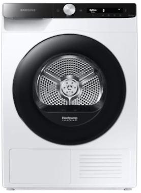 Image of Samsung DV90T5240AE/S1 DV5000 Heat Pump Tumble Dryer, 9Kg