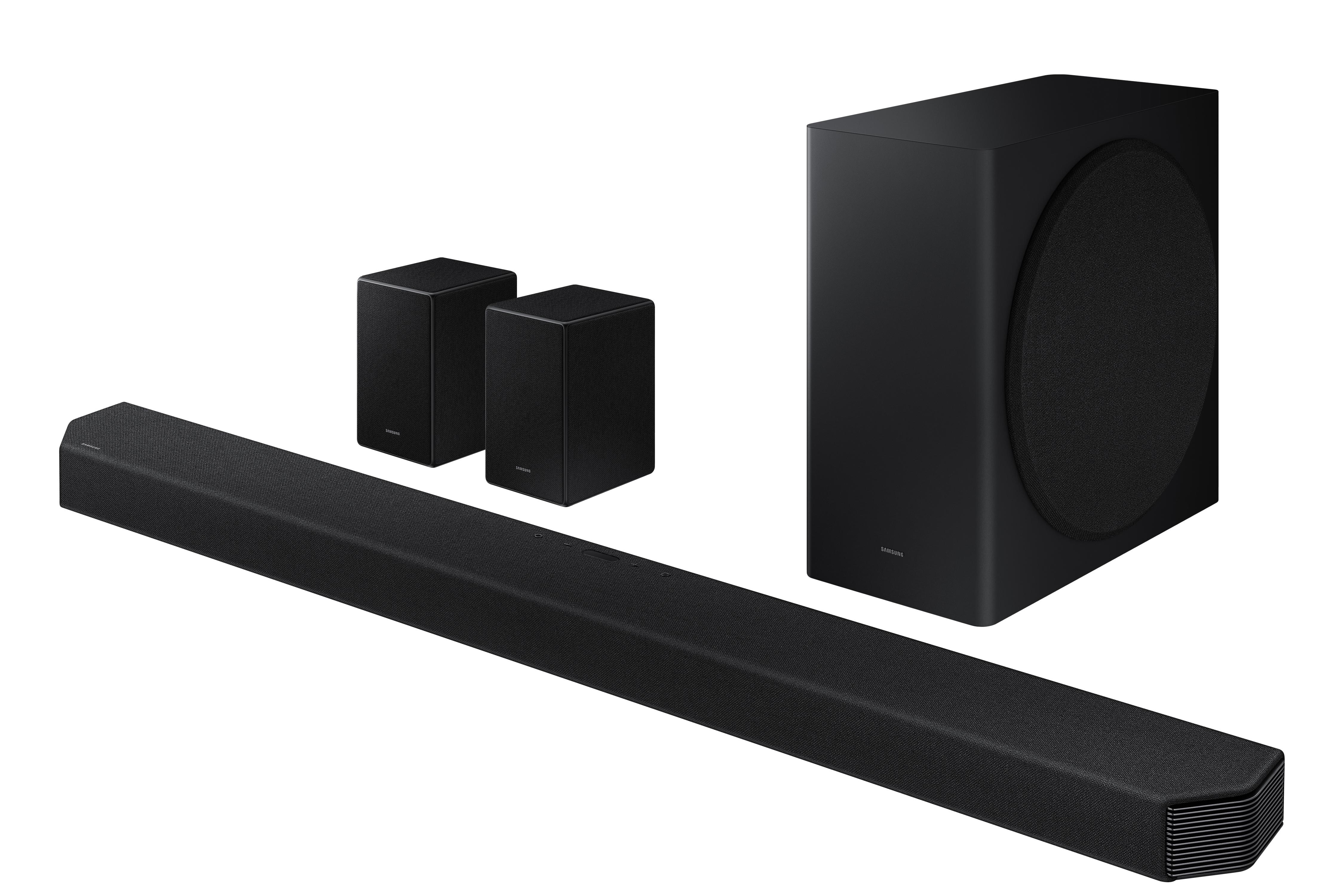 Image of HW-Q950AXU 616W 11.1.4 Bluetooth Dolby ATMOS Soundbar with Wireless Subwoofer