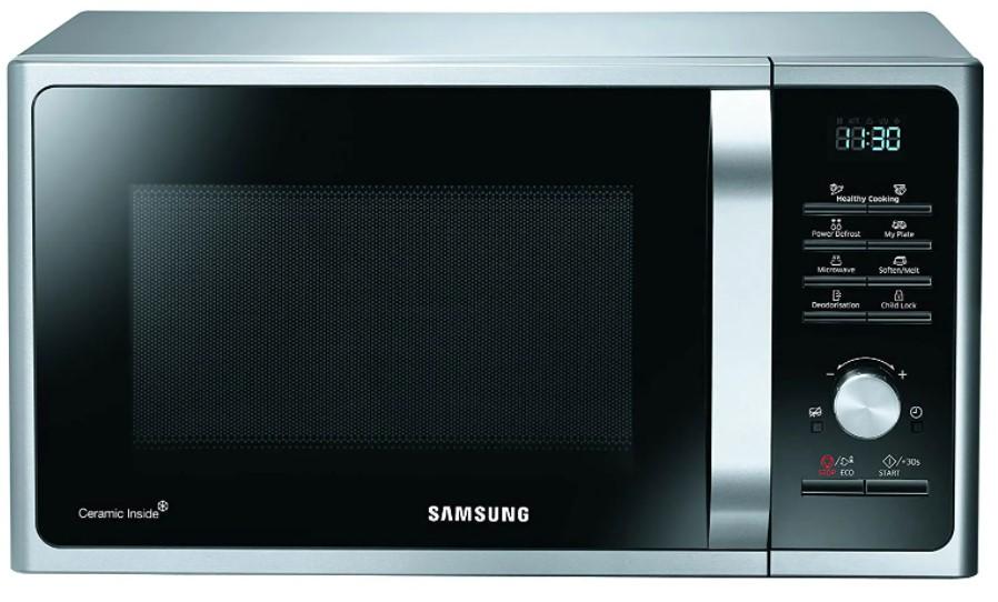 Image of SAMSUNG MS28F303TFK/EU Solo Microwave - Black, Black