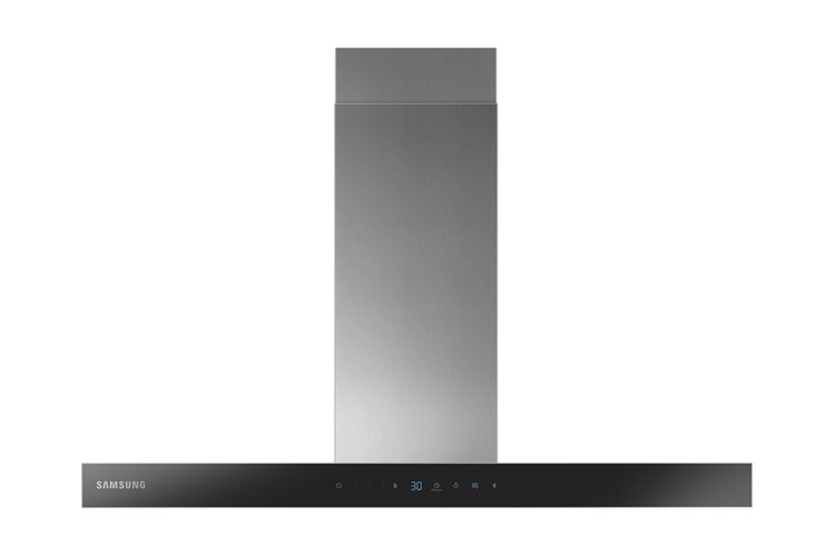 Image of Samsung NK36N5703BS Wall Mount Cooker Hood With Auto Connectivity, 90Cm