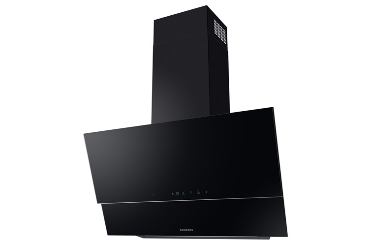 Image of Samsung NK36N9804VB Wall Mount Cooker Hood W/ Hob Auto Connectivity, 90Cm