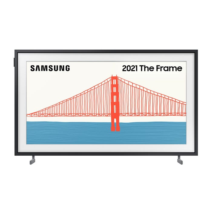Image of QE32LS03T The Frame (2021) 32 inch Art Mode Full HD HDR QLED Frame TV with Tizen OS