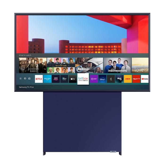 Samsung 'The Sero' QE43LS05TCUXXU 43' QLED 4K Lifestyle TV (2021 Model)