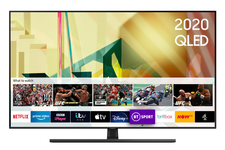 Image of QE65Q70T (2020) 65 inch QLED 4K HDR Smart TV with Tizen OS