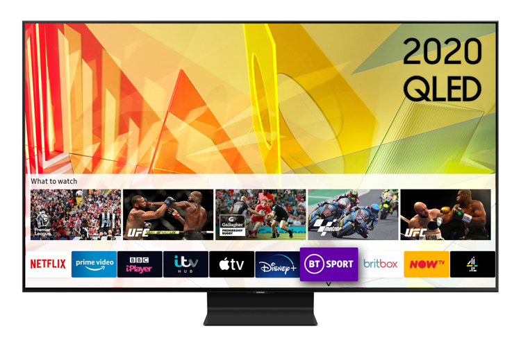 Image of QE65Q90T (2020) 65 inch Flagship QLED 4K HDR 2000 Smart TV with Tizen OS