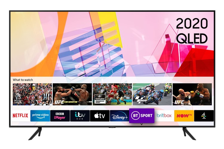 Image of QE75Q60T (2020) 75 inch QLED 4K HDR Smart TV with Tizen OS