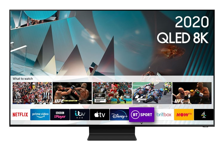 Image of QE75Q800T (2020) 75 inch Flagship QLED 8K HDR Full Array LED TV with Tizen OS