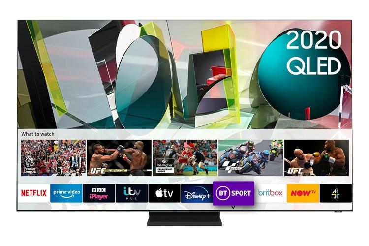 Image of Samsung QE75Q900TS 75 Inch Qled 8K Hdr 3000 Smart TV W/ Tizen Os