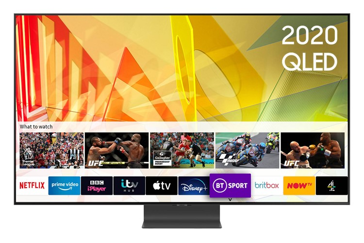 Image of QE75Q95T (2020) 75 inch Flagship QLED 4K HDR 2000 Smart TV with Tizen OS