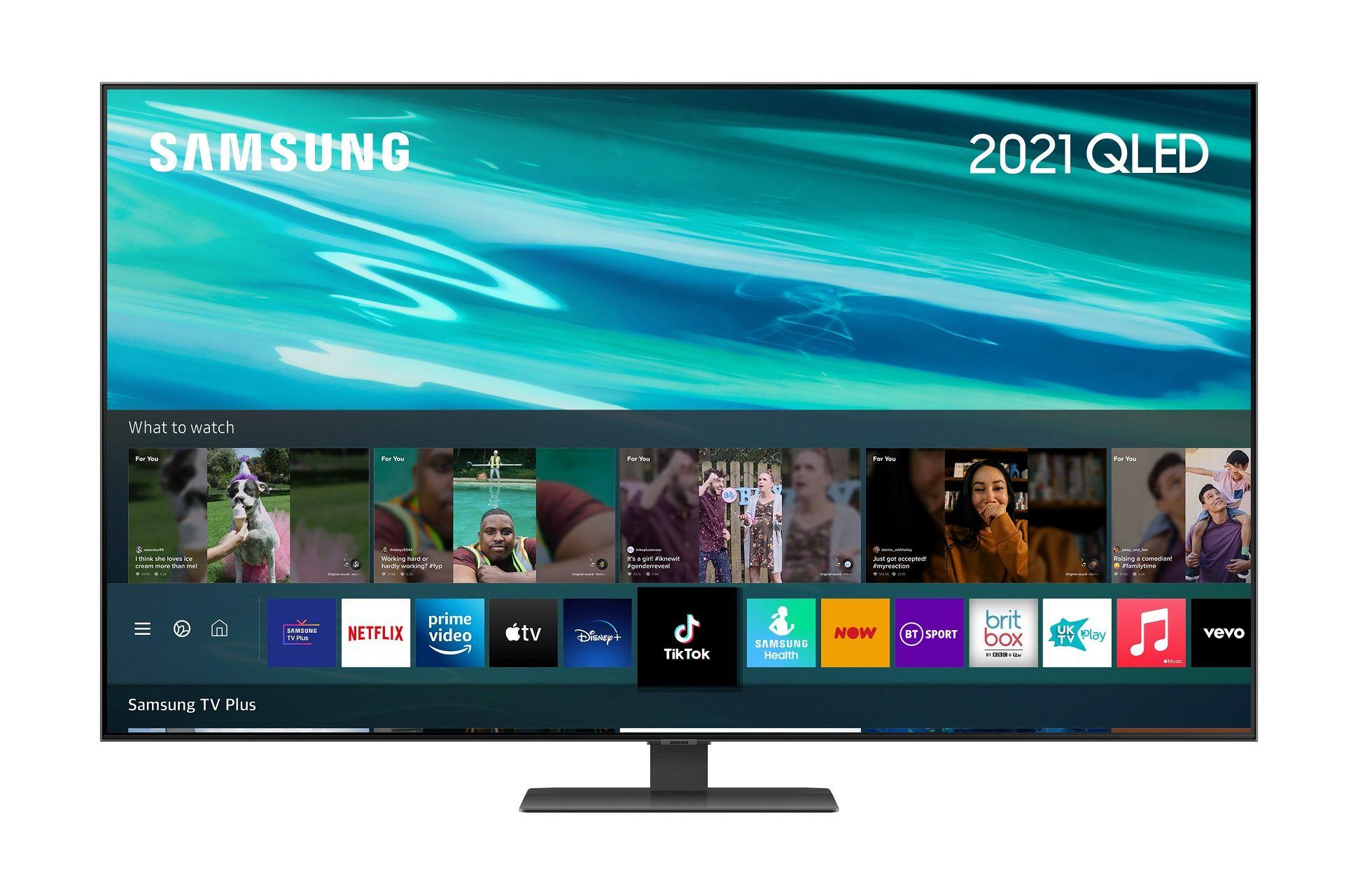 Samsung QE85Q80AATXXU 85`` QLED 4K Smart TV