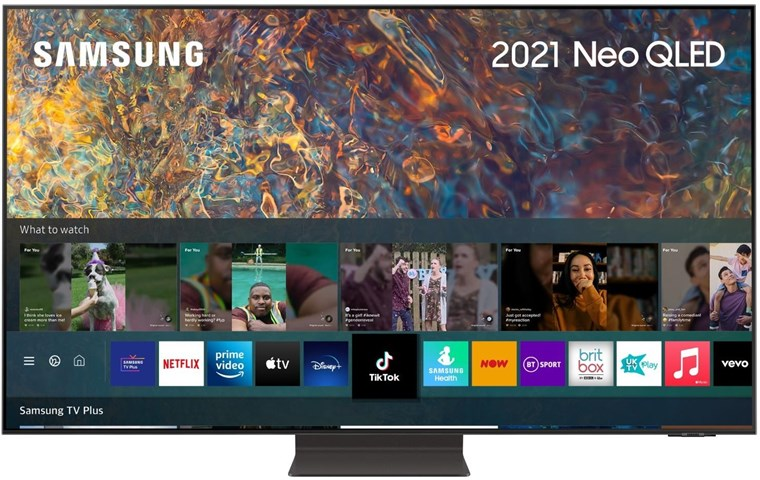 Image of QE85QN94CATXXU (2021) 85 inch Neo QLED 4K HDR 2000 Mini LED TV