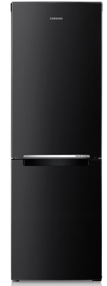 Image of Samsung RB29FSRNDBC 1.78M Fridge Freezer, 290 Litres, A+Rated, Internal Display, Gloss Black