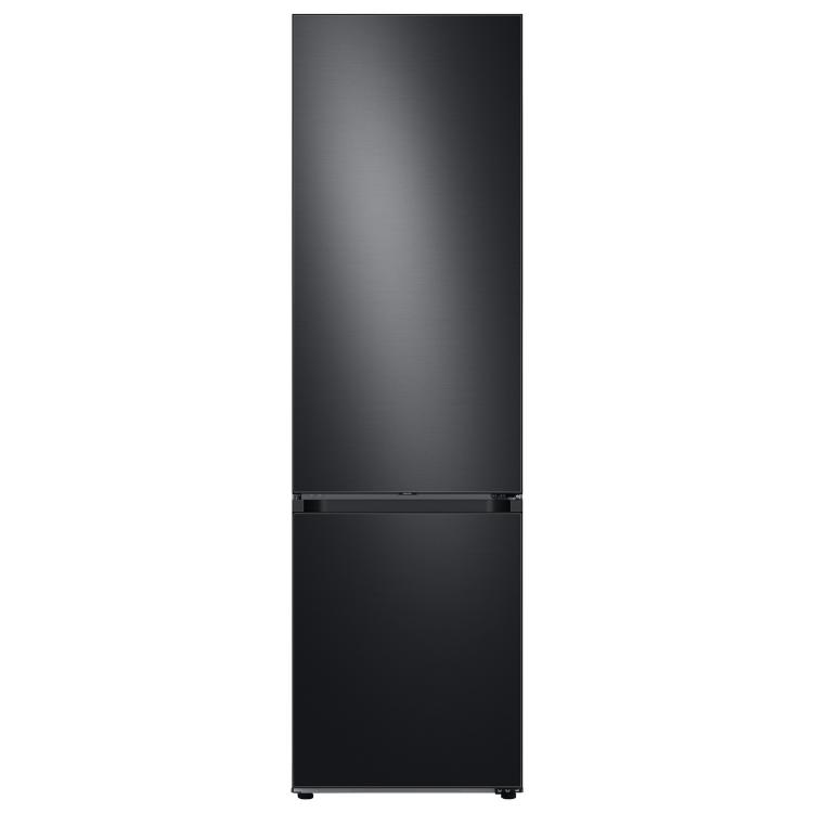 Image of SAMSUNG Bespoke RB38A7B6BB1/EU 70/30 Fridge Freezer - Black Stainless Steel, Stainless Steel