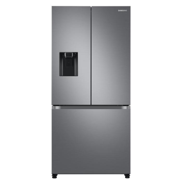Image of Samsung RF50A5202S9 American Fridge Freezer - Brushed Steel