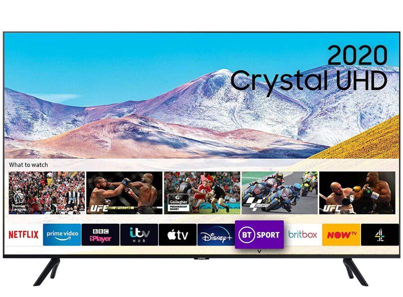 Image of Samsung UE55TU8000KXXU 55 Inch 4K LED Smart TV 2020 Model